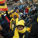 Excitement after Ghana goal