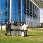 I and Allan outside Microsoft Egypt offices