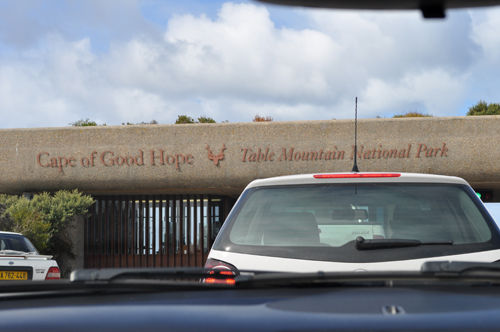 Arrival at Cape of Good Hope