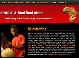 Kinobe and Soul Beat Africa