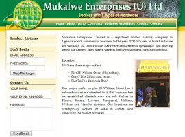 Mukalwe Enterprises Ltd
