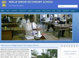 Ndejje Senior Secondary School Re-design