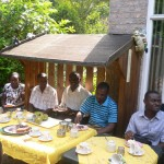 Lunch at Prof Theo's Home