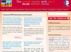 The World Starts With Me Online Support Center