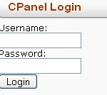 CPanel Login